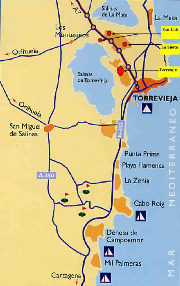 Torrevieja Holiday Close To Torrevieja Marina Costa Blanca Spain